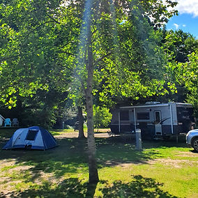 powered sites for caravan and camping ja