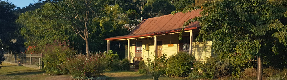 Historic building Jamieson Victoria High country heritage walk