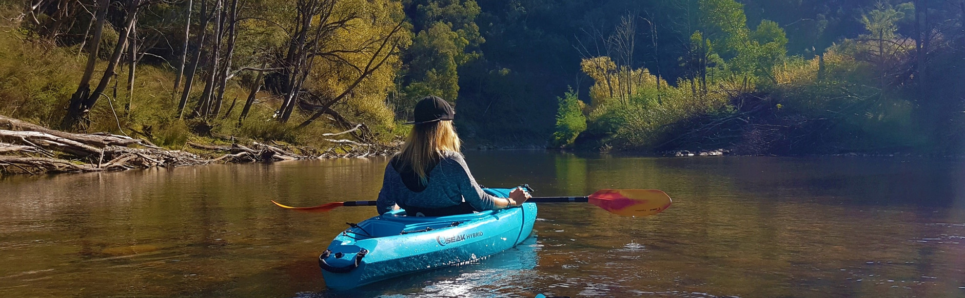 Kayak rental on the Jamieson and Golbourn River