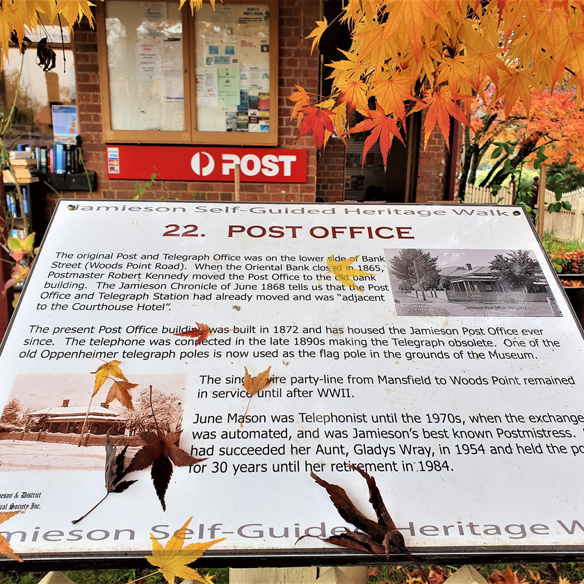 historic post office in victoria heritage walk local history