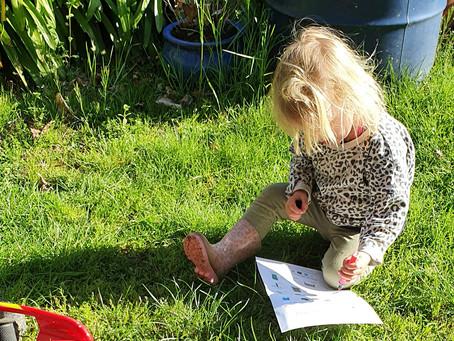 Outdoor Scavenger Hunt for Children