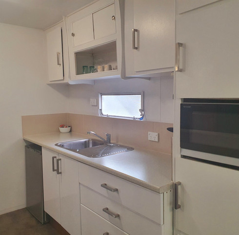 Kitchenette Van Accommodation Jamieson