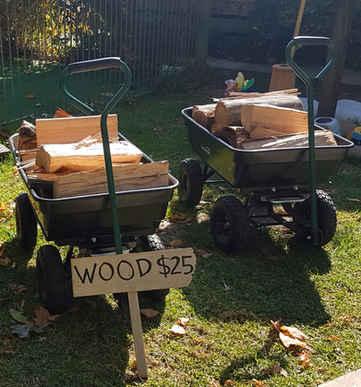 Fire wood for purchase Jamieson Caravan