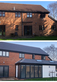BEFORE AND AFTER REAR EXTENSION