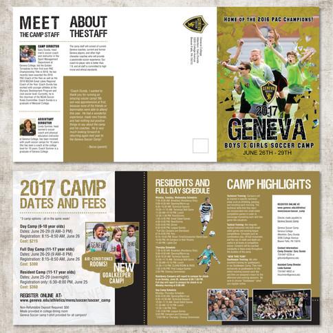 Soccer Camp Brochure
