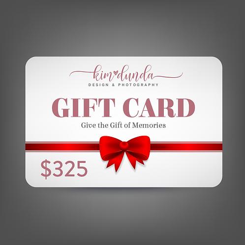 $325 Gift Card