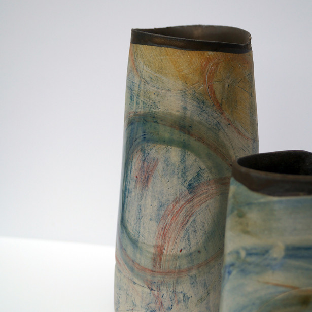 Two pots together