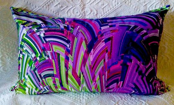 Green/Purple Art Deco Delight