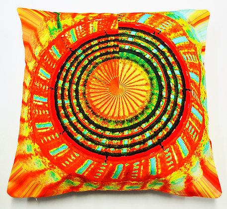 Orange Spinning Wheel