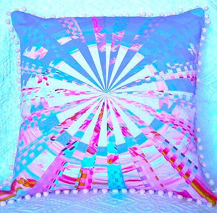 Blue/Pink Check Wheel