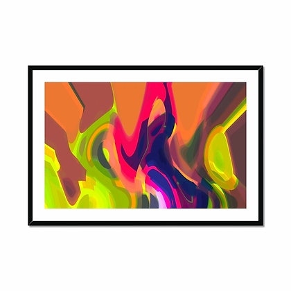 Sunset Framed and Mounted Print