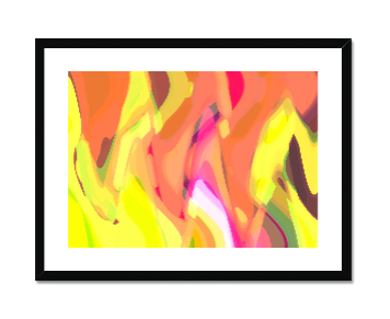 Sunrise Framed and Mounted Print