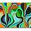 Thumbnail: Green Hippy Canvas
