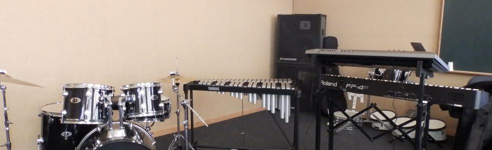 Sala Formação Bateria e Percussão