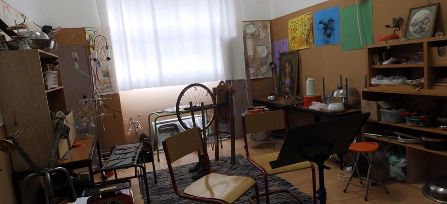 Sala Formação S.O.M. - Esculturas Sonoras