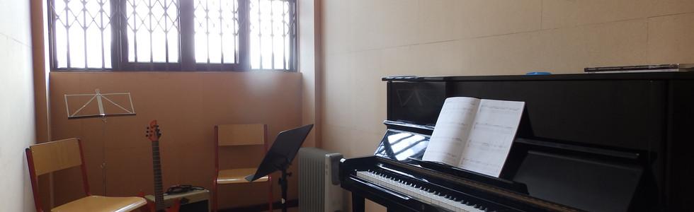 Sala Formação Piano e Canto