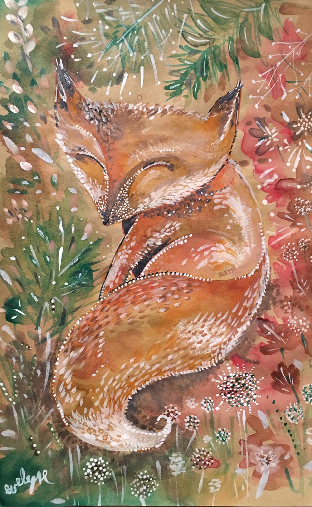 renard-aquarelle