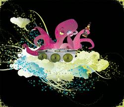 DJ-poulpe