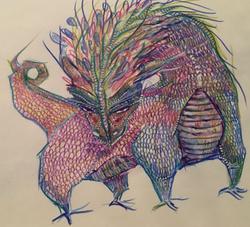 dragon-crayon