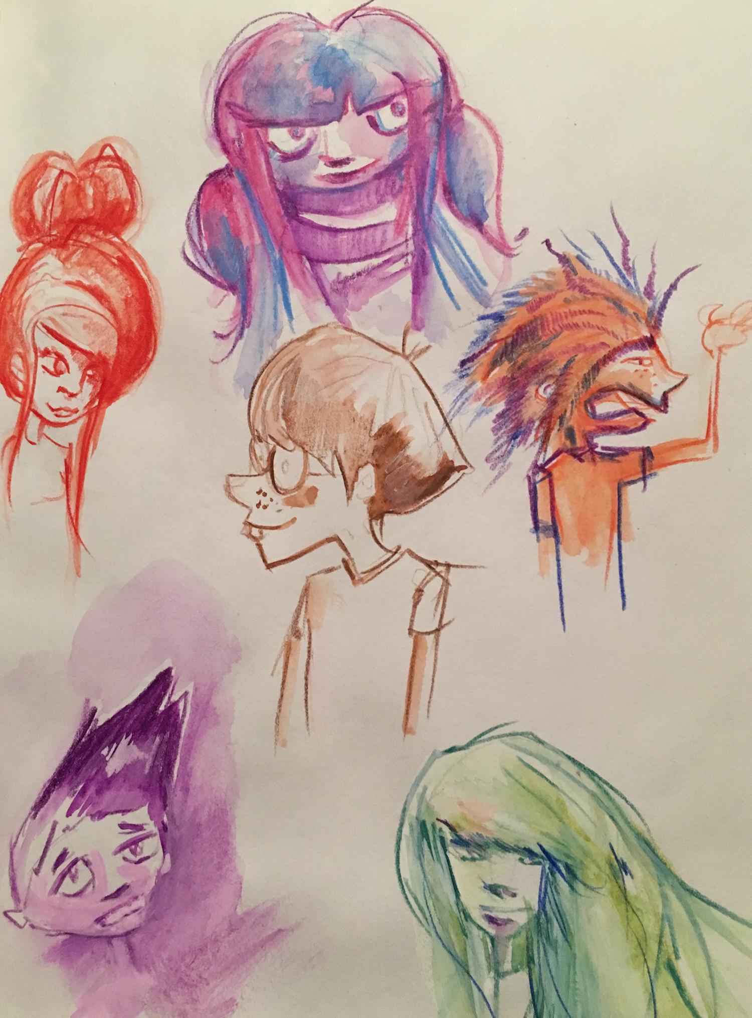 visages bd