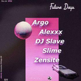 finite future days flyer showcase