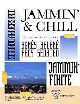 Jammin & chill porfinite, agnes helene, facy sedated, majo choclate bar