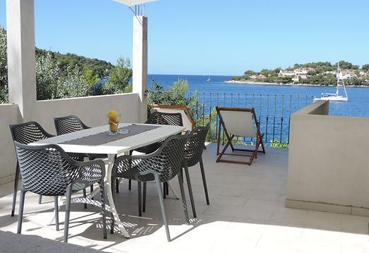 Apartment Luxe private terrace Skrivena Luka