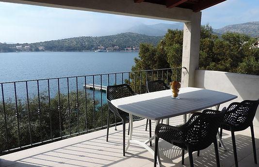 Aparment Aqua private terrace Skrivena Luka