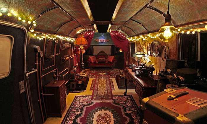 Steampunk Gypsies Room