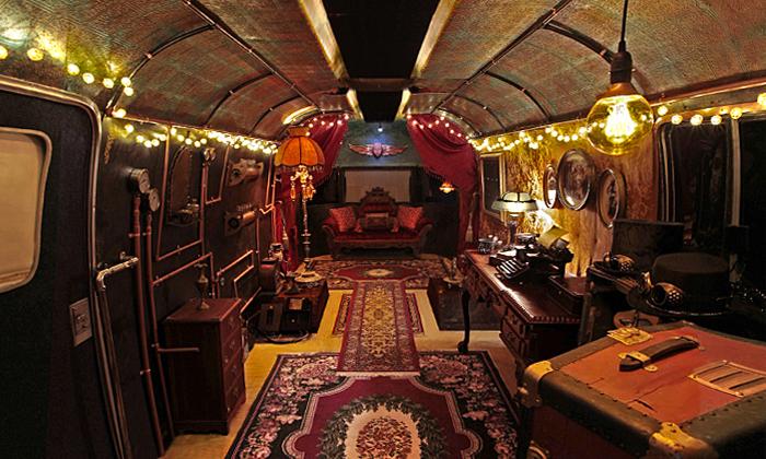 Steampunk Gypsies Room