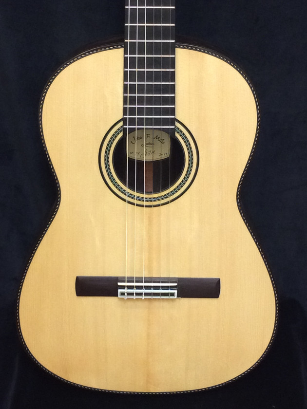 635mm scale aged  European spruce top.
