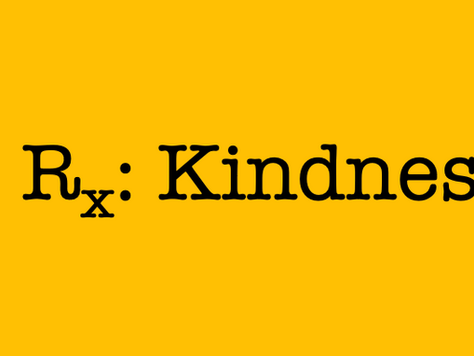 Being nice is easy. Being kind is harder.