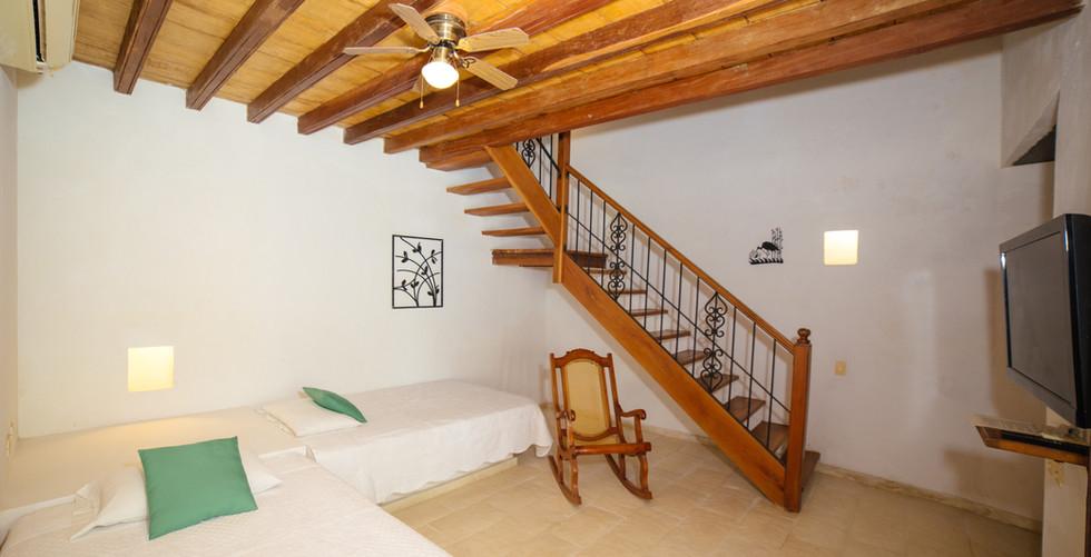 BIOMA SUPERIOR QUADRUPLE ROOM LOWER LEVEL TWIN BEDS