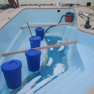 Fiberglass Pool Crack Repair