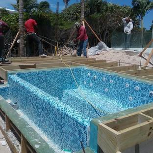 Pool in process