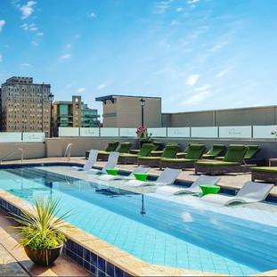 Custom Fiberglass Roof Top Pool by_ API