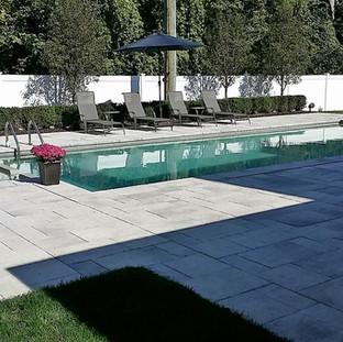 Custom Built Fiberglass Pool with Hot Tub attached