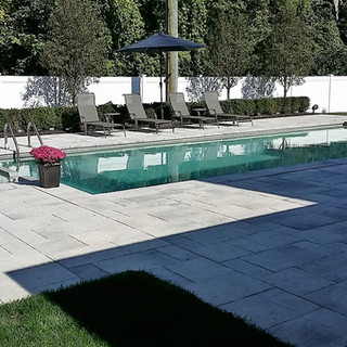 Custom Built Fiberglass Pool with Hot Tub attached