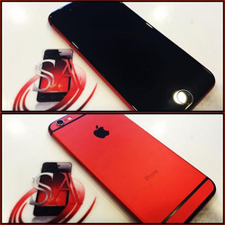 iPhone 6 Red Frame Swap