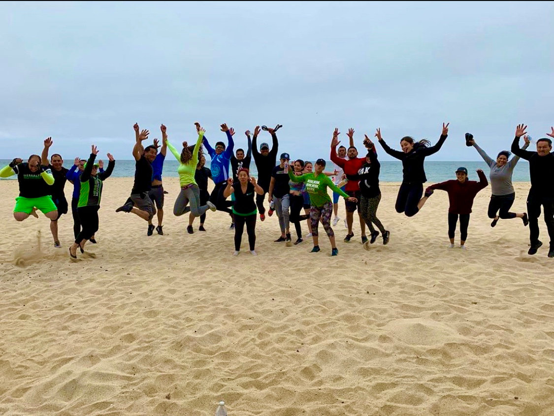 spartan Training beach