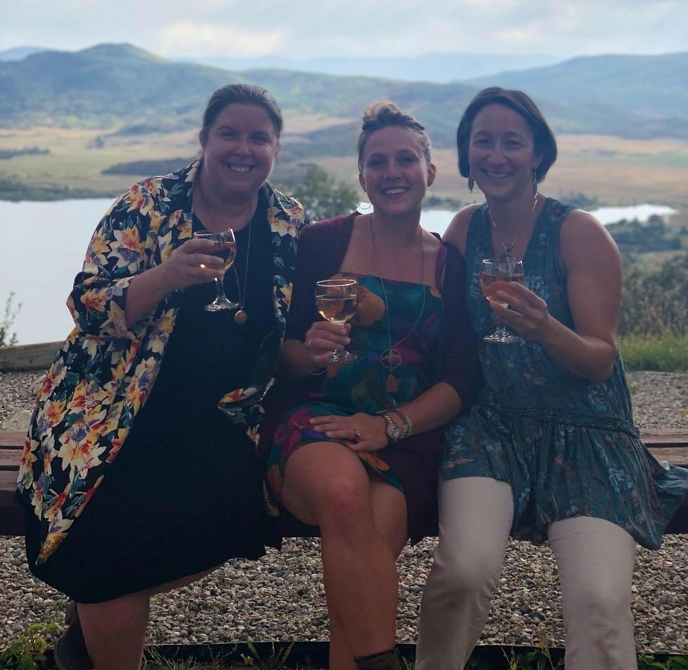 Lee, Alison and myself at Bella Vista