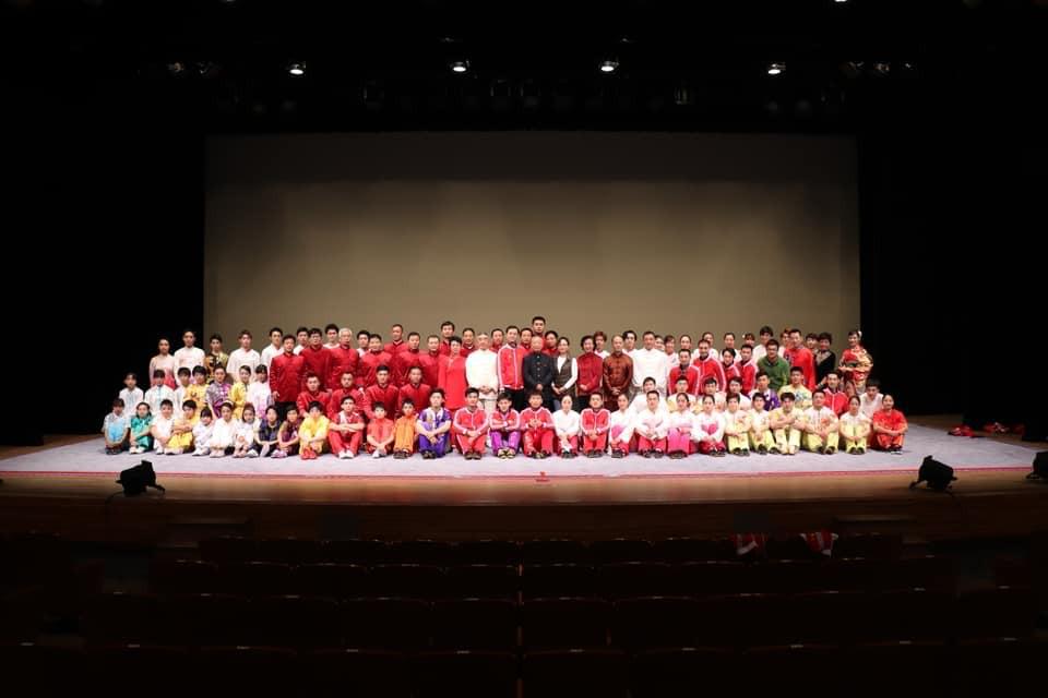 日中平和友好条約締結40周年記念舞台「武術太極拳in北海道」