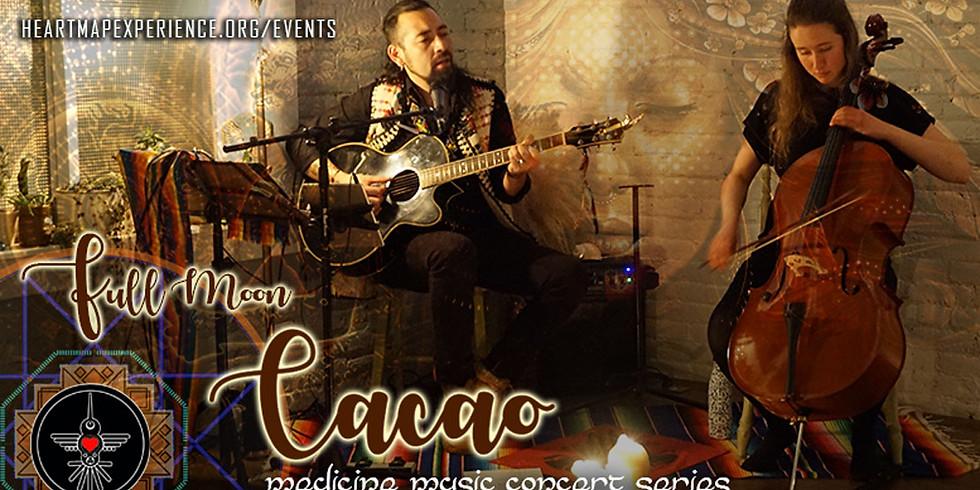 Full Moon Cacao Medicine Music Concert - Online