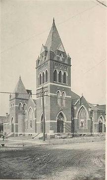 Third Presbyterian Church in 1907