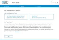 Option to Submit Virus Intelligence