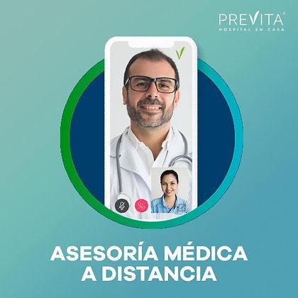 Asesoría médica a distancia (pago por evento)