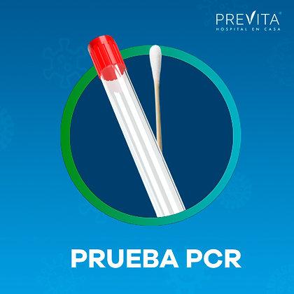 Prueba COVID-19 PCR a domicilio unitario