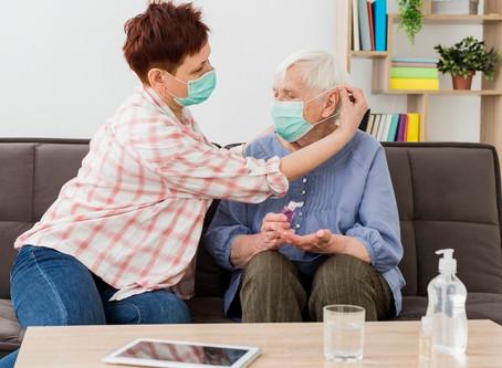 ¿Qué hacer cuando un familiar tiene coronavirus?
