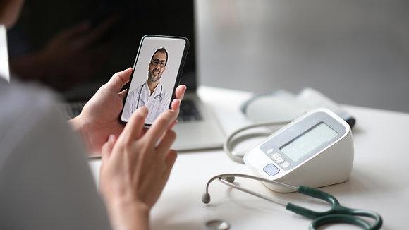 Hospital en casa COVID-19 con dispositivos