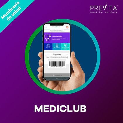 Mediclub Previta - Titular y 2 familiares